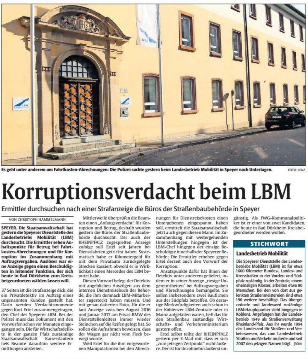 Korruption, Bestechung, Bestechlichkeit